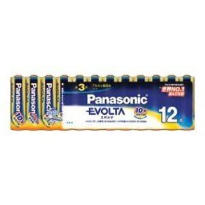 パナソニック LR6EJ/12SW 単3形アルカリ乾電池 「エボルタ」 12本パック