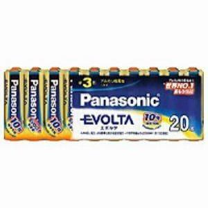 パナソニック 単3形 アルカリ乾電池 「エボルタ」 (20本入り) LR6EJ/20SW