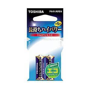 東芝 アルカリ電池 IMPULSE LR1H 2EC