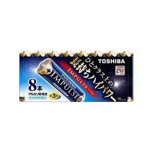 東芝 アルカリ電池 IMPULSE LR6H 8MP