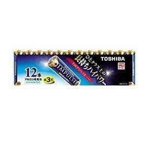 東芝 アルカリ電池 IMPULSE LR6H 12MP