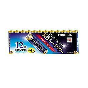 東芝 アルカリ電池 IMPULSE LR03H 12MP