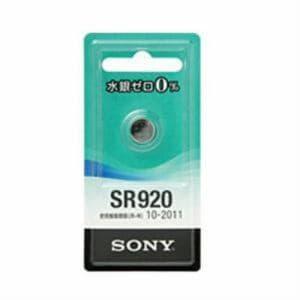 ソニー 酸化銀電池 SR920-ECO