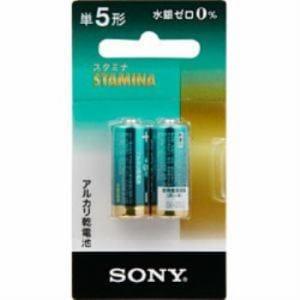 ソニー 【単5形】 2本 アルカリ乾電池 LR1SG-2BHD