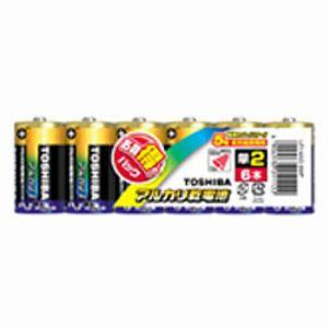 東芝 【単2形】 6本 アルカリ乾電池 「アルカリ1」 LR14AG 6MP
