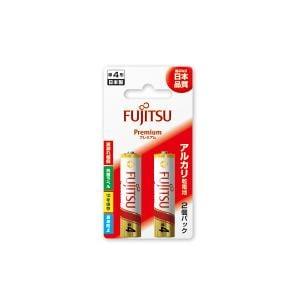 富士通 アルカリ乾電池 プレミアムタイプ (ブリスターパック) 単4形 1.5V 2個パック LR03FP(2B)