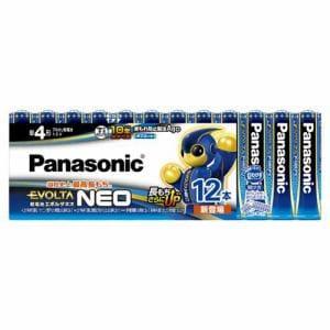 パナソニック LR03NJ/12SW 単4形乾電池 「エボルタネオ」 12本パック