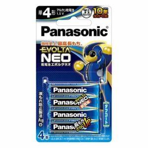 パナソニック LR03NJ/4B 単4形乾電池 「エボルタネオ」 4本パック