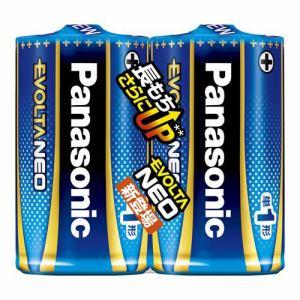 パナソニック LR20NJ/2SE 単1形乾電池 「エボルタネオ」 2本パック