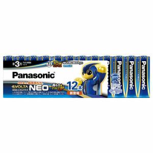 パナソニック LR6NJ/12SW 単3形乾電池 「エボルタネオ」 12本パック