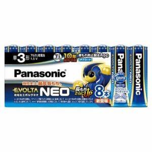 パナソニック LR6NJ/8SW 単3形乾電池 「エボルタネオ」 8本パック
