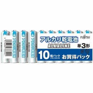 富士通 LR6(10S)H2 アルカリ電池 単3形 10本パック