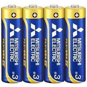 三菱 LR6EXD/4S 【単3形】4本 アルカリ乾電池 「アルカリEX」