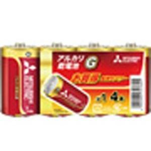 三菱 LR20GD4S 【単1形】 4本 アルカリ乾電池 「アルカリG」