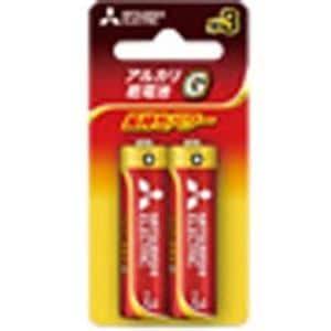 三菱 LR6GD2BP 【単3形】 2本 アルカリ乾電池 「アルカリG」