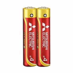 三菱 LR03GD/2S 【単4形】2本 アルカリ乾電池 「アルカリG」