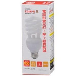 オーム電機 EFD25EL-21-KS 電球型蛍光灯 「エコナボール傘交換球」(電球100W形 1個入・電球色・口金E26)