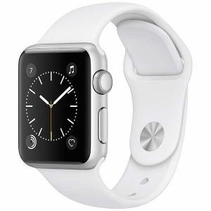 アップル(Apple) MNNG2J/A Apple Watch Series 1 38mm シルバーアルミニウムケースとホワイトスポーツバンド
