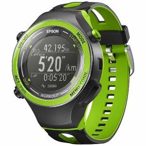 エプソン SF-720G GPS機能搭載ウオッチ 「WristableGPS」 GPS機能30時間稼働・活動量計機能搭載モデル グリーン