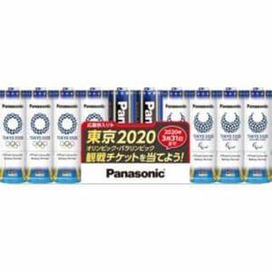 パナソニック LR6NJTP/10S 単3形 10本 アルカリ乾電池 「エボルタネオ」 東京2020オリンピック・パラリンピック特別パック