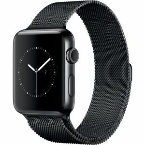 アップル(Apple) MNU92J/A Apple Watch Series 2 42mmスペースブラックステンレススチールケースとスペースブラックミラネーゼループ