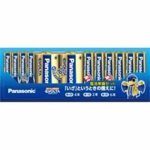 パナソニック K-KJE12JA 乾電池常備セット(エボルタ)