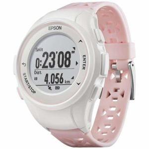 エプソン Q-10P GPSランニングウオッチ 「Wristable GPS(リスタブルGPS)」 ピンク