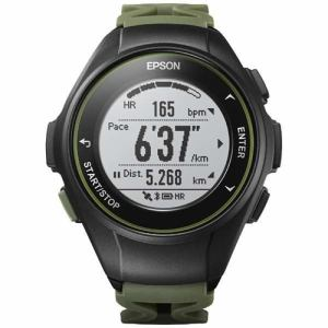エプソン J-50K GPSランニングウオッチ 「Wristable GPS」 カーキ