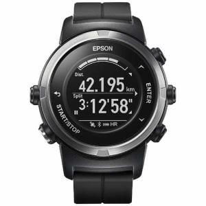 エプソン J-350B GPSランニングウオッチ 「Wristable GPS」 ブラック