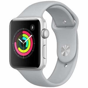 アップル(Apple) MQL02J/A Apple Watch Series 3(GPS) 42mm シルバーアルミニウムケースとフォッグスポーツバンド