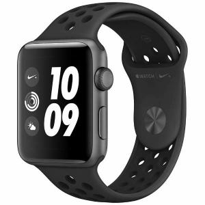 アップル(Apple) MQL42J/A Apple Watch Nike+(GPS) 42mm スペースグレイアルミニウムケースとアンスラサイト/ブラックNikeスポーツバンド