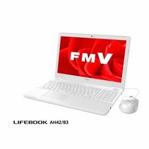 富士通 FMVA42B3W ノートパソコン FMV LIFEBOOK AH42/B3 プレミアムホワイト