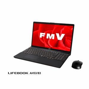 富士通 FMVA53B3B ノートパソコン FMV LIFEBOOK AH53/B3 ブライトブラック