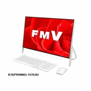 富士通 FMVF70B3W デスクトップパソコン FMV ESPRIMO FH70/B3 ホワイト