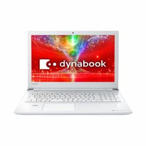 東芝 PT55EWP-BJA2 ノートパソコン dynabook T55/EW  リュスクホワイト
