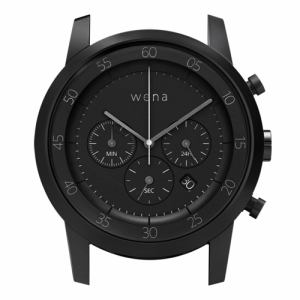 ソニー WN-WC01B-H wena wrist(ウェナ リスト)用ヘッド 「Chronograph Premium Black Head」