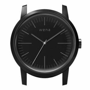 ソニー WN-WT01B-H wena wrist(ウェナ リスト)用ヘッド 「Three Hands Premium Black Head」