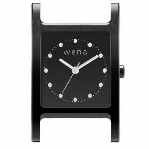 ソニー WN-WT11B-H wena wrist(ウェナ リスト)用ヘッド 「Three Hands Square Premium Black Head」