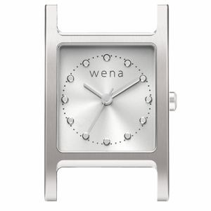 ソニー WN-WT11S-H wena wrist(ウェナ リスト)用ヘッド 「Three Hands Square Silver」