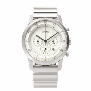 ソニー WN-WC01W ウェアラブル端末 「wena wrist(ウェナ リスト) Chronograph White」
