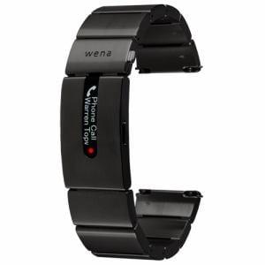 ソニー WB-11A/B ハイブリッドスマートウォッチ wena wrist pro Premium Black (ウェナリスト プロ プレミアムブラック)