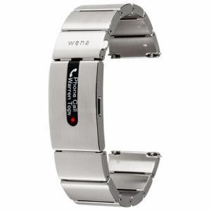 ソニー WB-11A/S ハイブリッドスマートウォッチ wena wrist pro Silver (ウェナリスト プロ シルバー)
