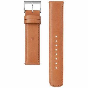 ソニー WC-20E0N-T 電子マネー機能搭載替えバンド カーフ革 「wena wrist leather」(20-20mm・ブラウン)