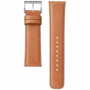ソニー WC-22E0N-T 電子マネー機能搭載替えバンド カーフ革 「wena wrist leather」22-22mm・ブラウン)