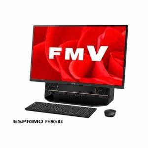 富士通 FMVF90B3B デスクトップパソコン FMV ESPRIMO FH90/B3  ブラック