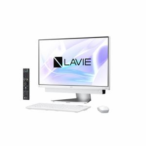 NEC PC-DA770KAW デスクトップパソコン LAVIE Desk All-in-one  ホワイトシルバー