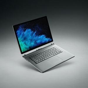 マイクロソフト HNR-00010 Surface Book 2 15インチ Core i7/16GB/256GB dGPUモデル   シルバー