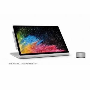マイクロソフト HN4-00034 Surface Book 2 (i7/8GB/256GB dGPU)   シルバー