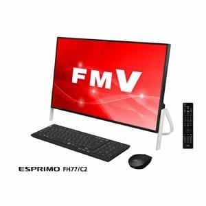 富士通 FMVF77C2B デスクトップパソコン FMV ESPRIMO FH77/C2  ブラック