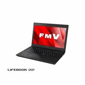 富士通 FMVU5373BY モバイルパソコン FMV LIFEBOOK UH537/B  アルマイトブラック